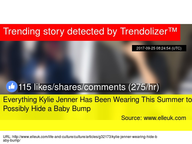 a436f4c5f7233 Everything Kylie Jenner Has Been Wearing This Summer to Possibly Hide a Baby  Bump