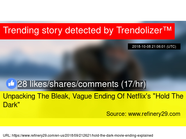 Unpacking The Bleak, Vague Ending Of Netflix'